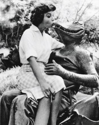 alligator people on set fun