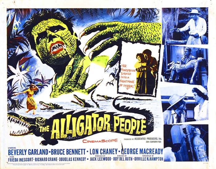 alligator people poster
