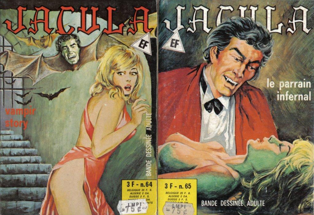 Jacula � Italian erotic horror comic   HORRORPEDIA