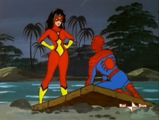 Old Caveman Show : Dracula s revenge episode of animated tv series spider