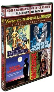 vampires, mummies & monsters dvd