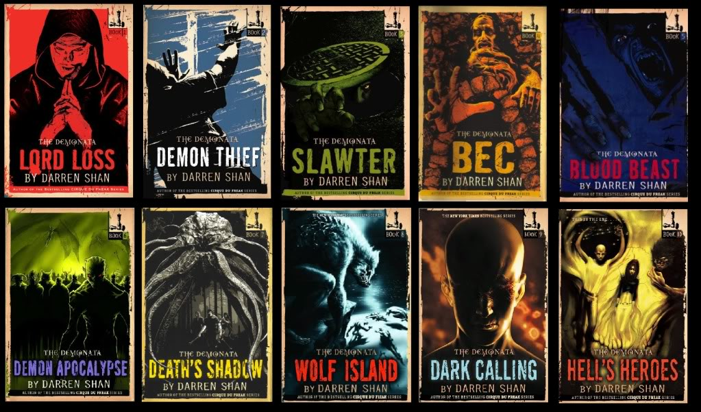 Book Cover Series Books ~ Darren shan author horrorpedia