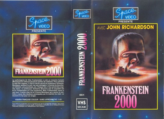 Frankenstein-2000-Frankenstein-80-John-Richardson-VHS-sleeve