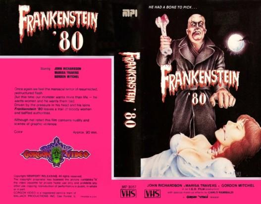 frankenstein '80 vhs front & back3