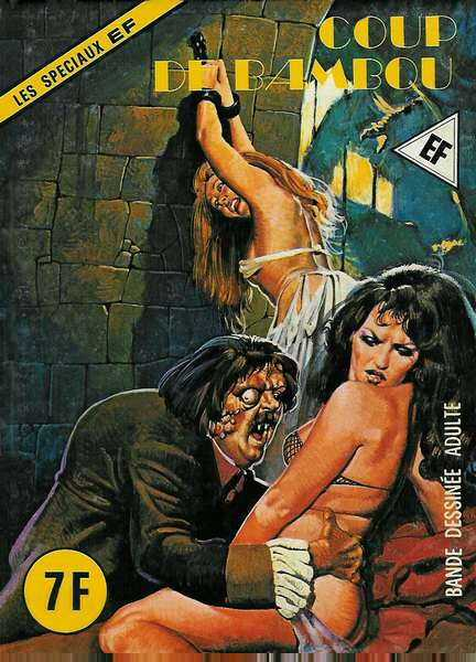Erotic french comic