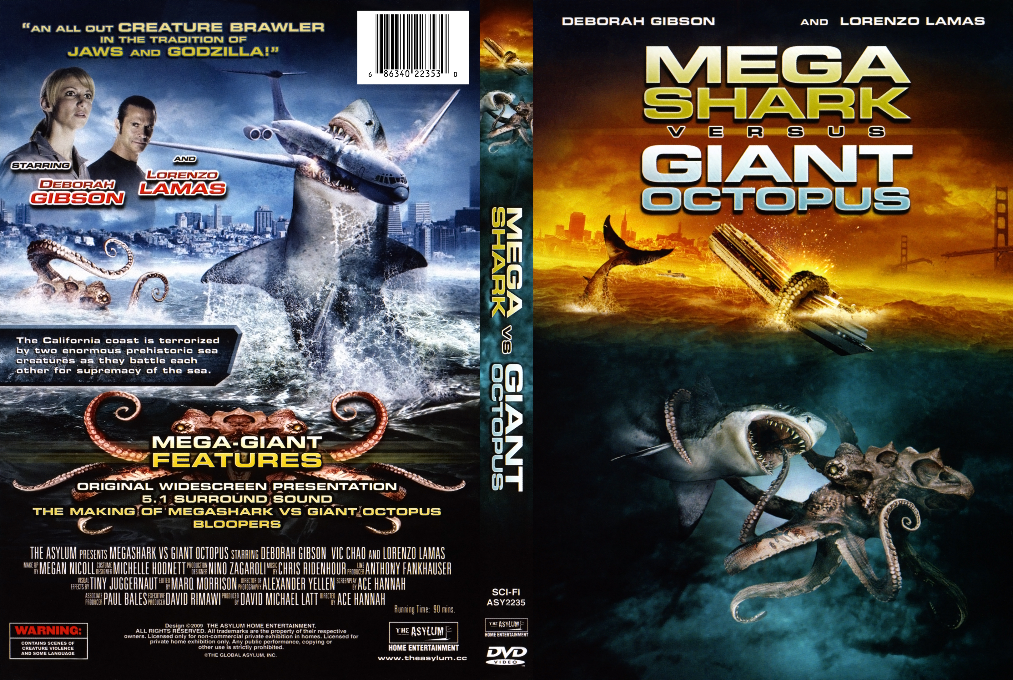 Mega Shark vs. Giant Octopus – USA – 2009 – HORRORPEDIA