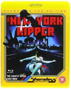 New York Ripper Shameless DVD