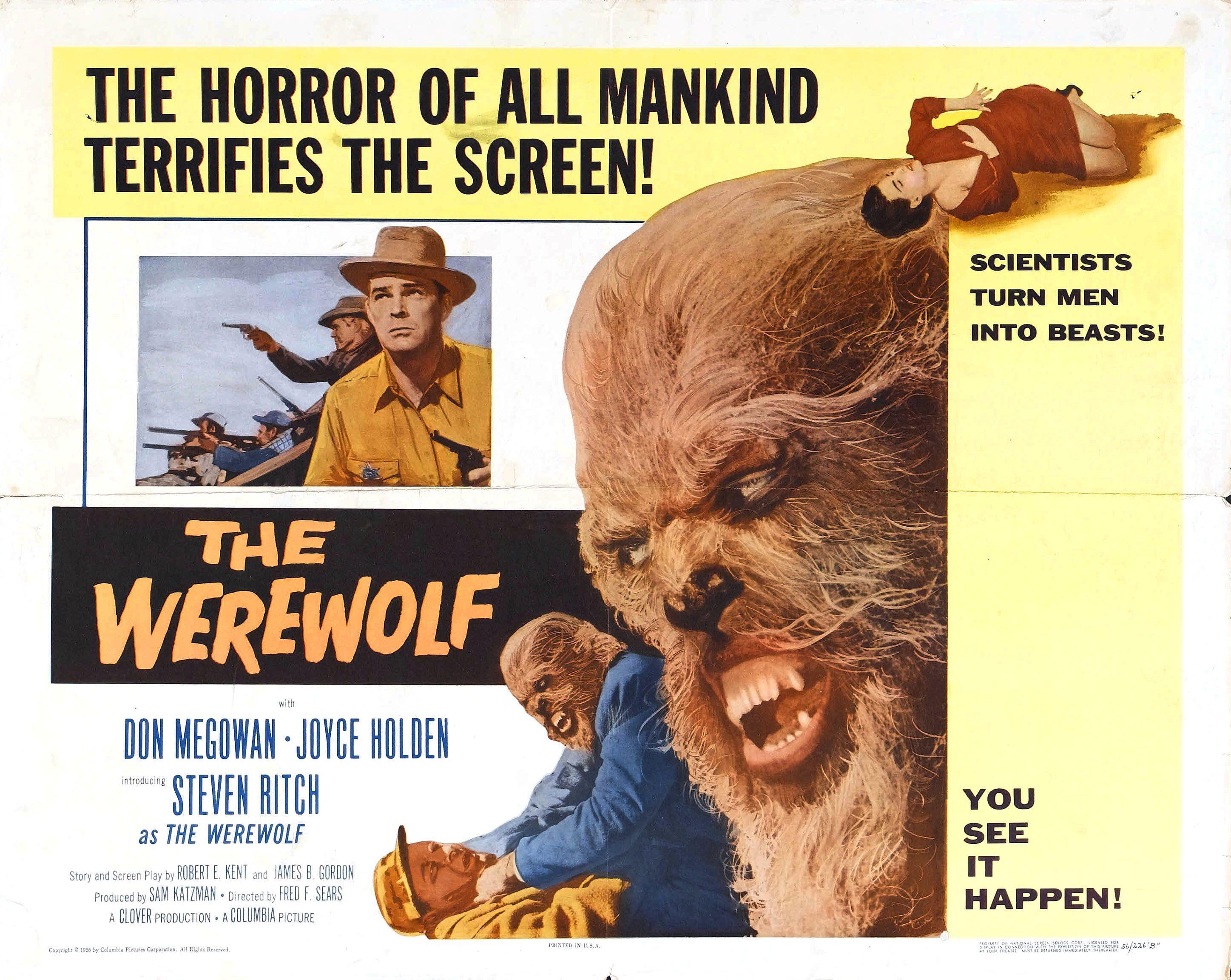 The Werewolf 1956 Horrorpedia