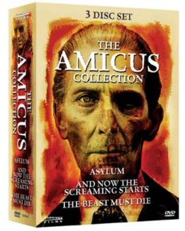 amicus collection asylum and now the screaming starts the beast must die dvd