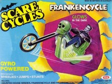Scare Cycles Ideal toys Frankencycle gyro powered