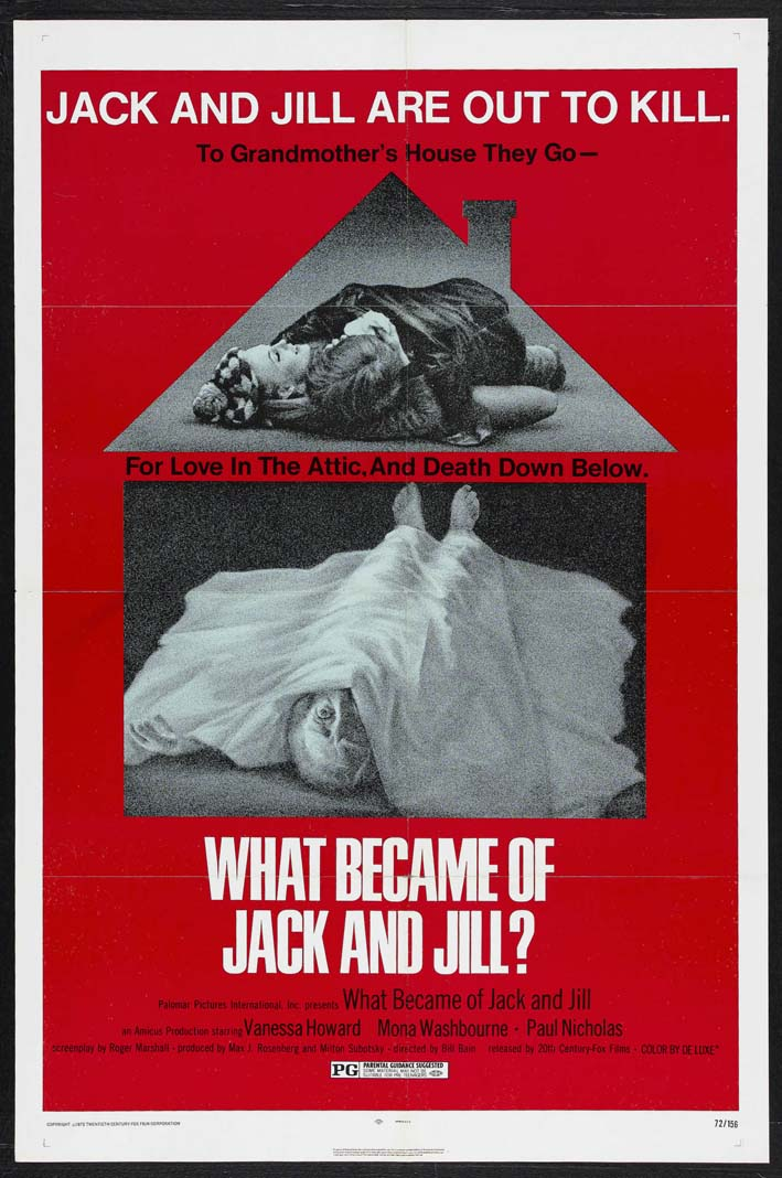 Amicus productions film production company horrorpedia for Jack and jill free movie
