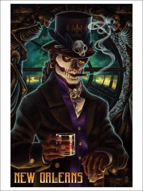 Baron-Samedi-New-Orleans-poster