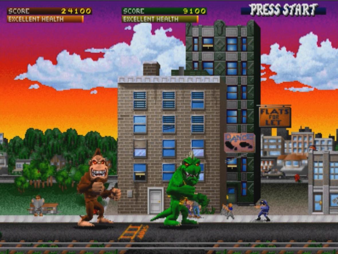 Rampage Video Game Horrorpedia