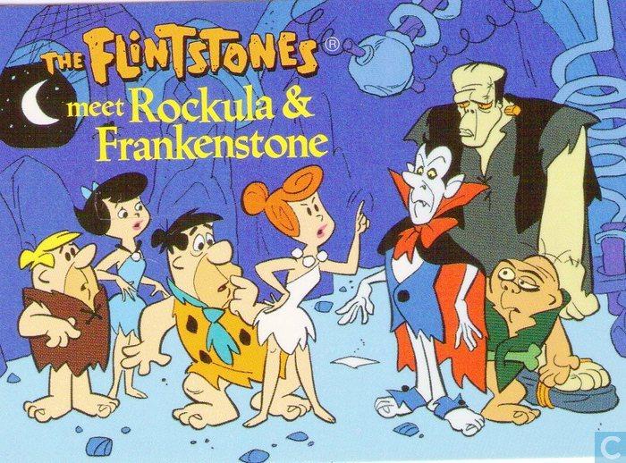 the flintstones meet rockula and frankenstone vhs viral