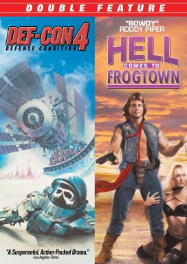 def con 4 + hell comes to frogtown dvd