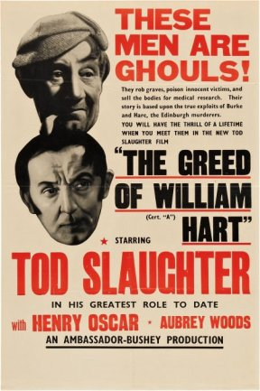 greed of william hart tod slaughter poster