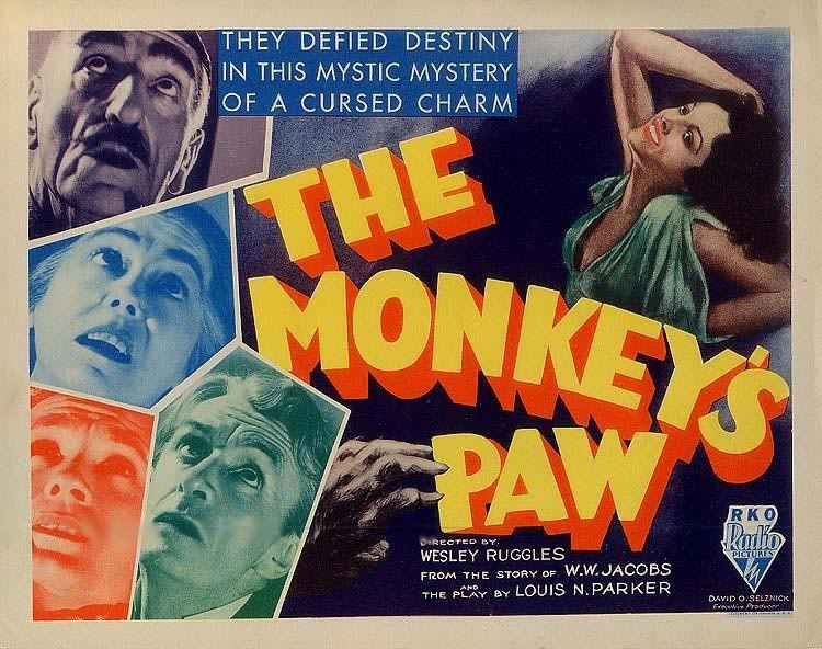 The Monkey's Paw – short story – HORRORPEDIA