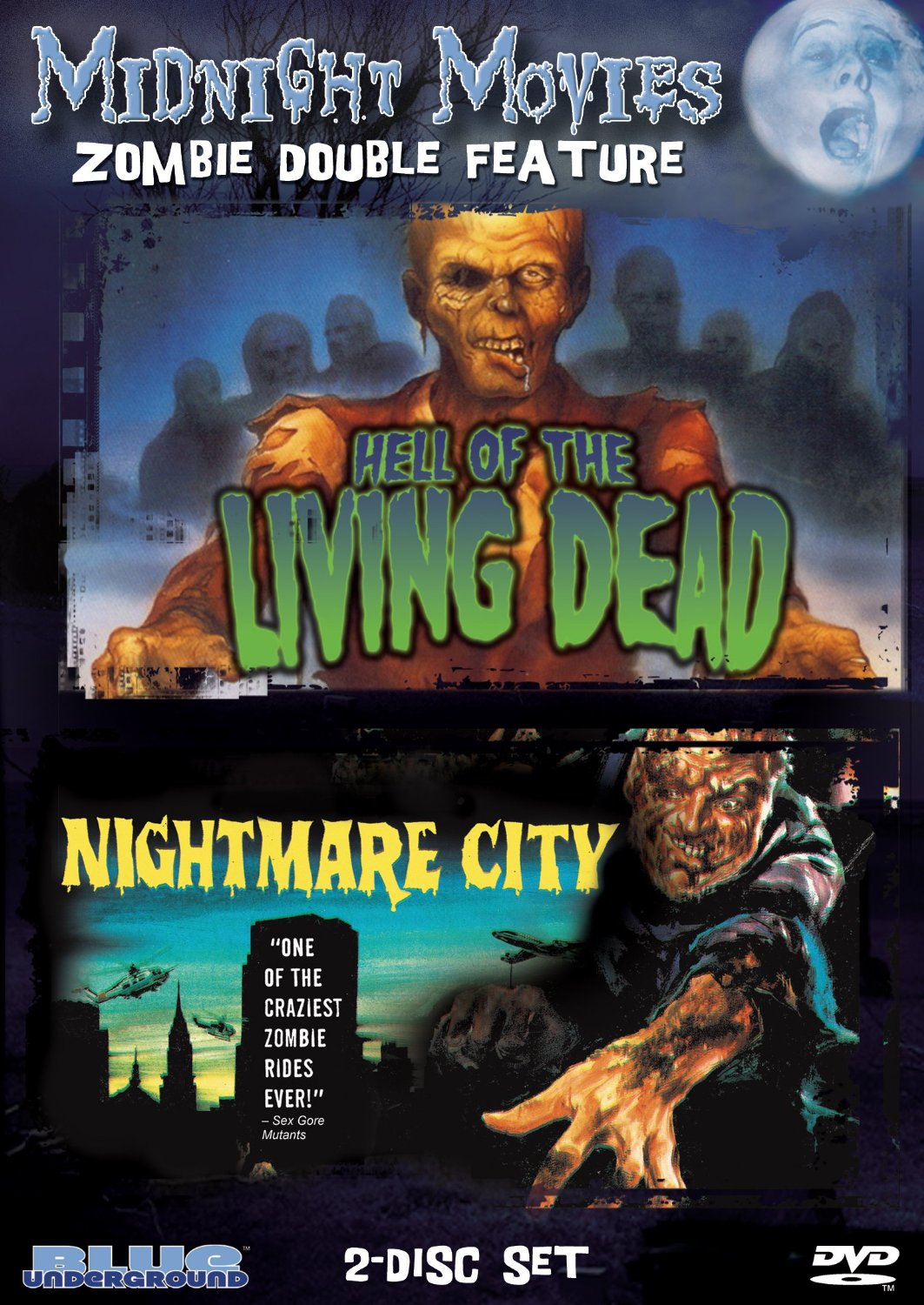 Of the living dead bargain zombie double bill on dvd from amazon com