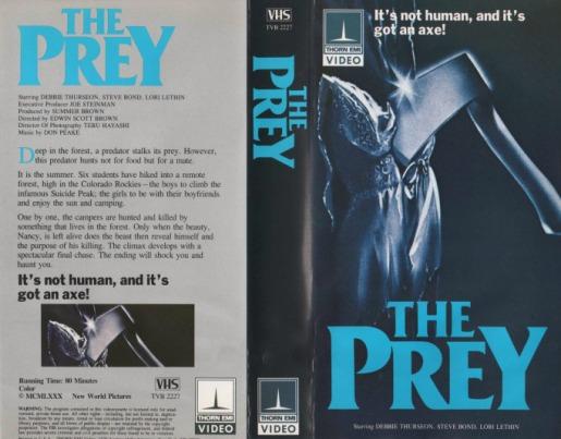 「the prey 1980」の画像検索結果