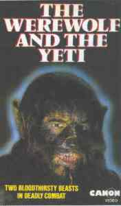 werewolf and the yeti