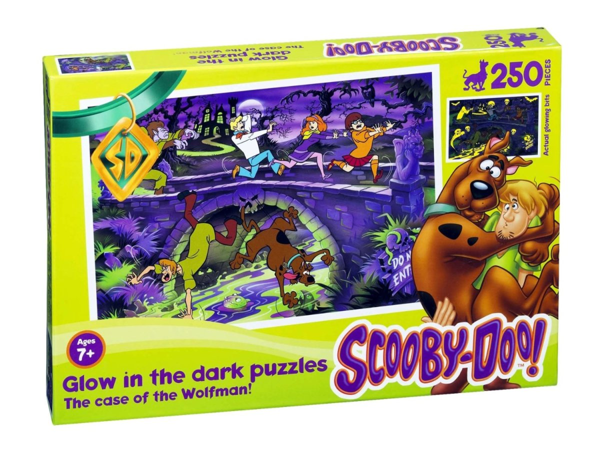 Scooby Doo Glow In The Dark Puzzles Horrorpedia