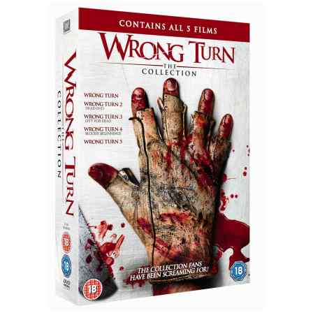 wrong turn collection dvd