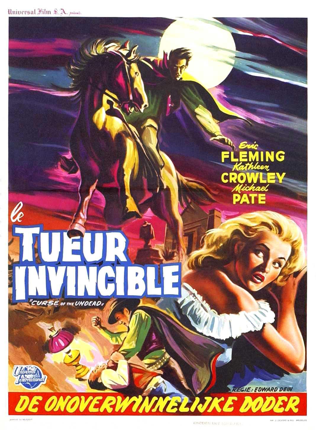 curse of the undead � usa 1959 � horrorpedia