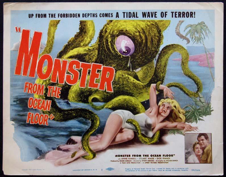 Monster From The Ocean Floor  Usa, 1954  Horrorpedia-2710