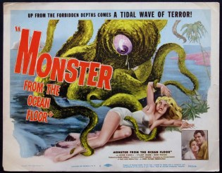 monster from the ocean floor 1954 roger corman poster