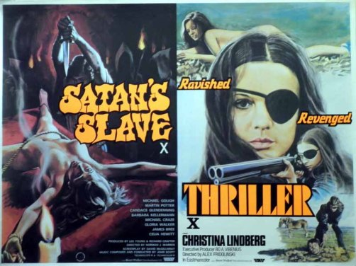 satans slave + thriller tom chantrell