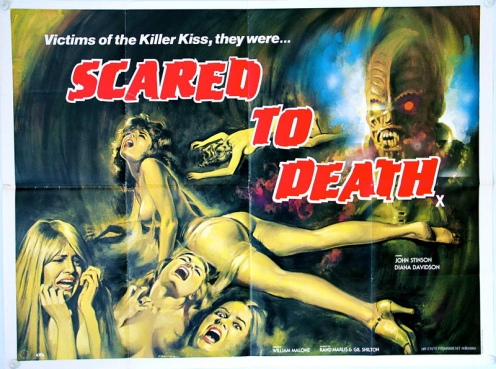 scared-to-death-1981-original-quad-artwork-by-tom-chantrell-horror-4366-p