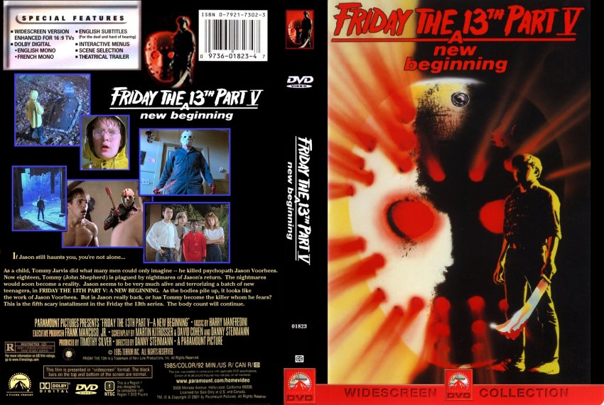 how would you rank the cover art? 264friday-the-13th-05b-dvd