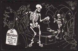 le macabre postcard