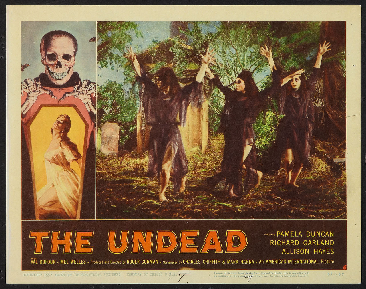 Image result for the undead 1957