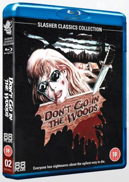 Don't Go in the Woods 88 Films Blu-ray