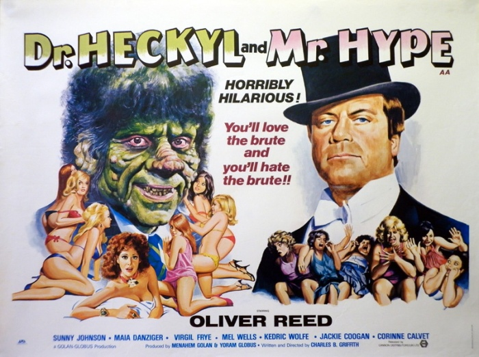 dr. heckyl and mr. Hype Tom Chantrell British quad poster