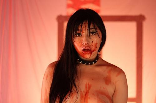 Saori Hara gives her thesping more effort than the pic deserves   emerging with dignity intact  Script provides a loopy excuse to get to  Nishimura s set. Horny House of Horror   Japan  2010   HORRORPEDIA