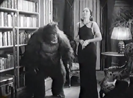 house of mystery 1934 ape and hindu woman chanda