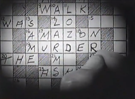 house of mystery 1934 crossword
