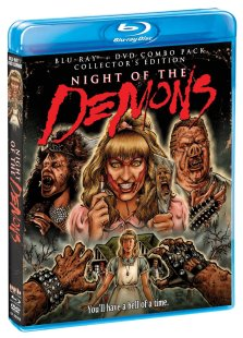 Night of the Demons 1988 Blu-ray