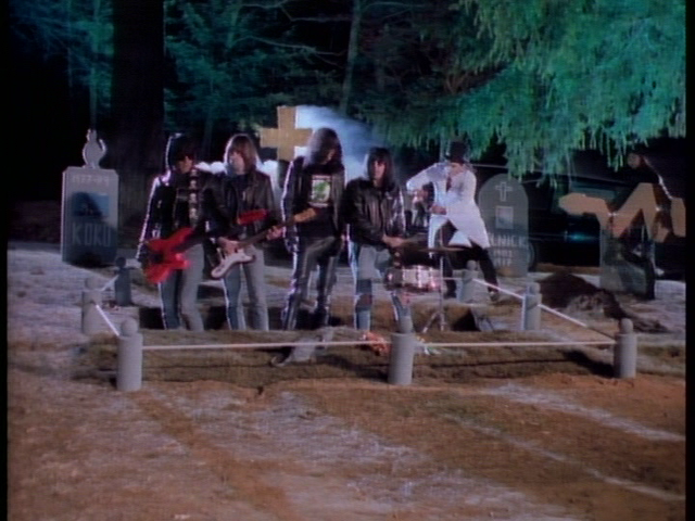 The Ramones in the video for Pet Sematary, a song from Pet Sematary, which The Ramones did for Mary Lambert the director of Pet Sematary and inbound marketing which means repeating Pet Sematary as many times as you can when writing about Pet Sematary and also links but with names like backlinks and interlinking because you sound cooler saying that.