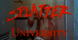 Splatter University slashed male victim