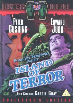 Island of Death Masters of Horror DVD