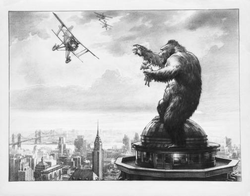 King-Kong-Mario-Larrinaga-concept-art-1933