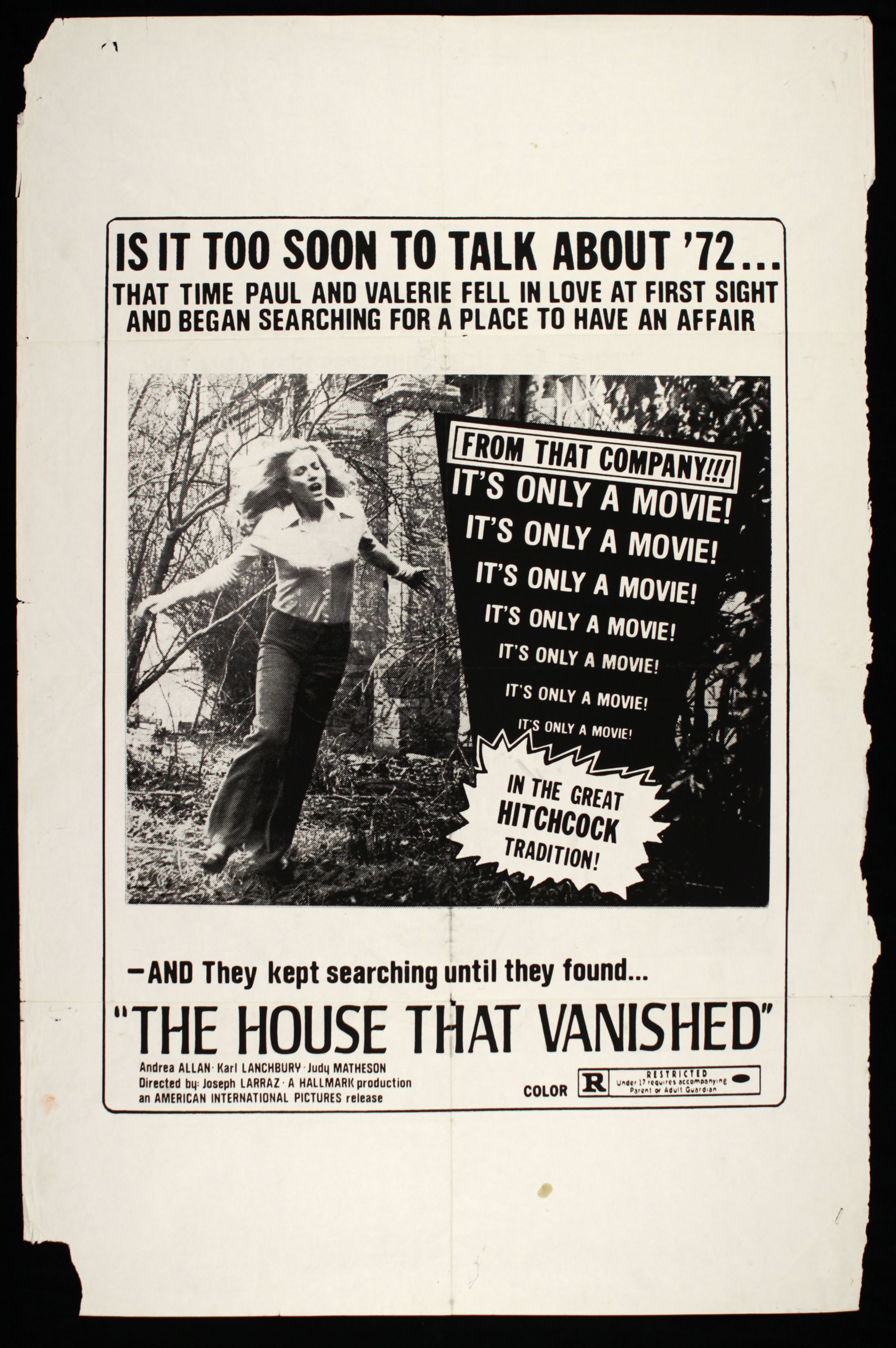 THE HOUSE THAT VANISHED