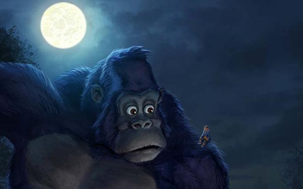 Nueva aparición del Mothman. Esta vez fué en España. Kong-king-of-the-apes