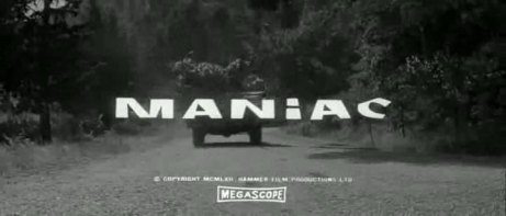 Maniac 1963jimmy sangster