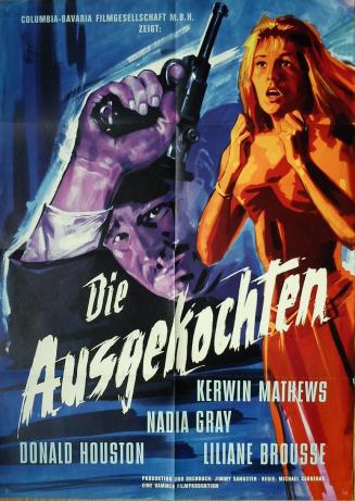 Maniac-Hammer-1963-German-poster-Die-Ausgekochten