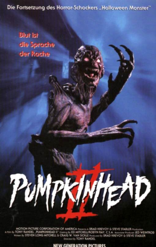 pumpkinhead ii blood wings 1994 � horrorpedia