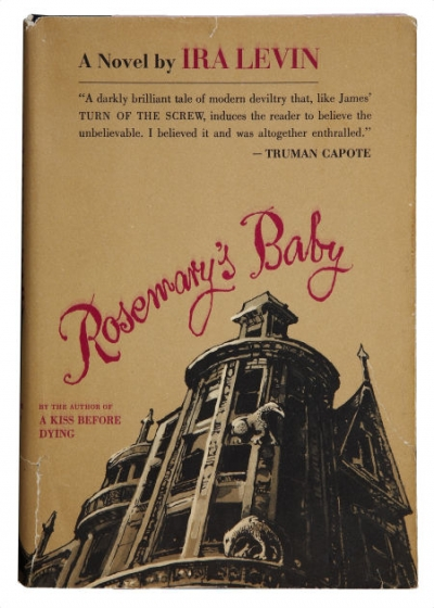an analysis of the horror novel rosemarys baby by ira levin Rosemary's baby is a 1968 psychological horror film directed by roman polanski, with a screenplay adapted from ira levin's best's selling 1967 novel of the same name.